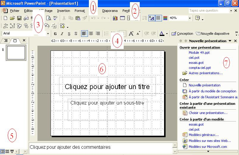 comment marche powerpoint 2007