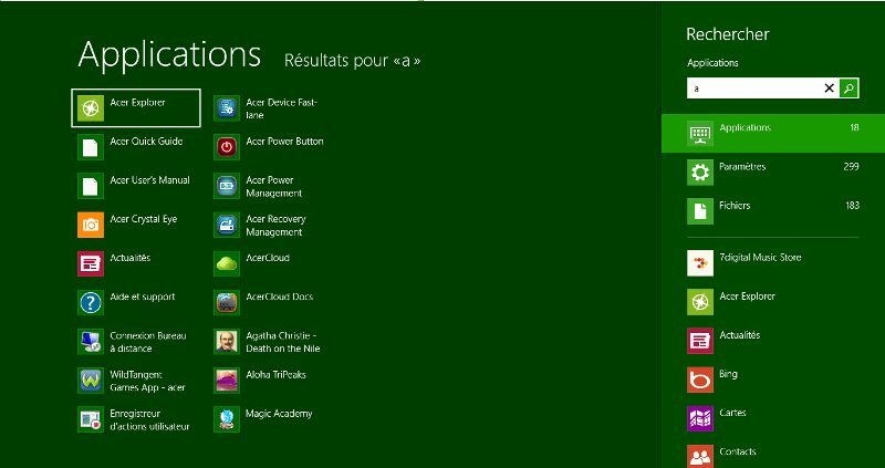 L 39 utilisation de windows 8 pour d buter for Fenetre dos windows 8